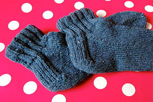 aarlan rolled cuff ankle socks
