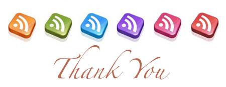big rss thank you
