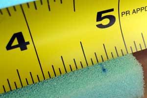 sponge bar measure foam