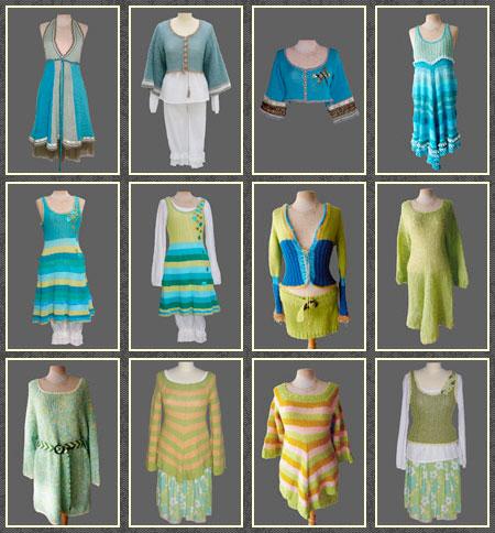 gitte lyng danish knitwear designer gallery green