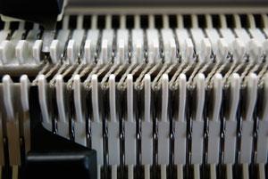 passap-racking-cast-on-slanted-rack